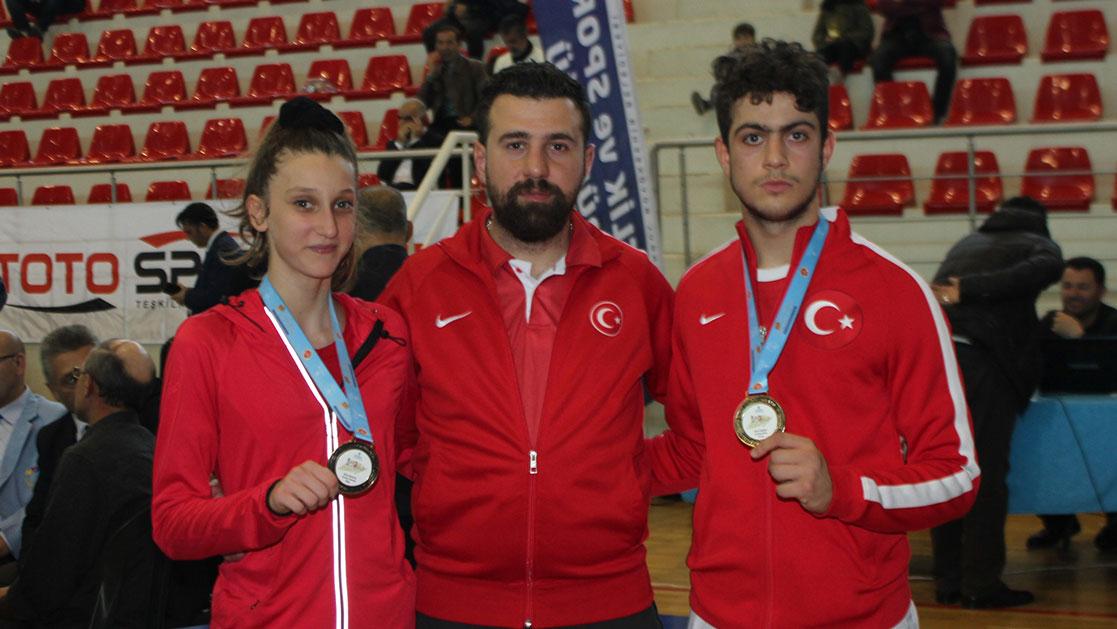 İsmet Iraz Turnuvasından 2 Altın Madalya