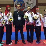 Bayanlar Dünya Taekwondo Şampiyonasında Takım Olarak Üçüncü