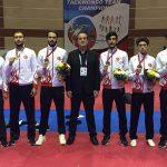 Erkekler Dünya Taekwondo Şampiyonasında Takım Olarak Üçüncü