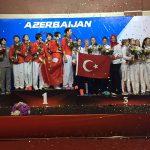 Bayan Milli Sporcular Dünya Üçüncüsü