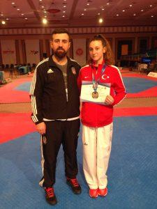 Ayşe Ebrar Duran, 5. Avrupa Kulüpler Şampiyonası İkincisi