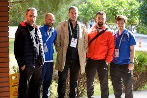 Cihan Emre Akdemir ve Şampiyonaya Katılan Antrenörler