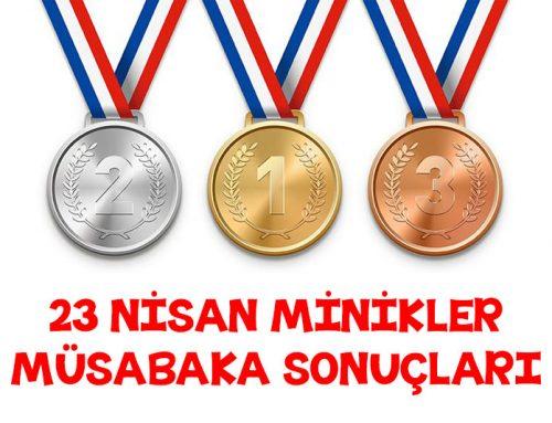 23 Nisan Minikler Şampiyona Sonuçları