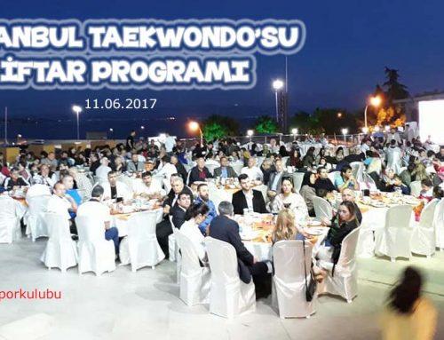 Taekwondo Camiası İftarda Buluştu