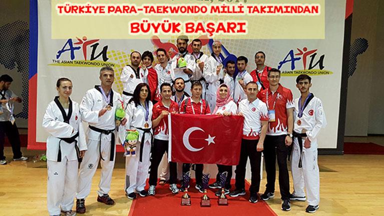 Para-Taekwondoculardan Büyük Başarı