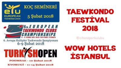 Taekwondo Festival 2018 - İstanbul