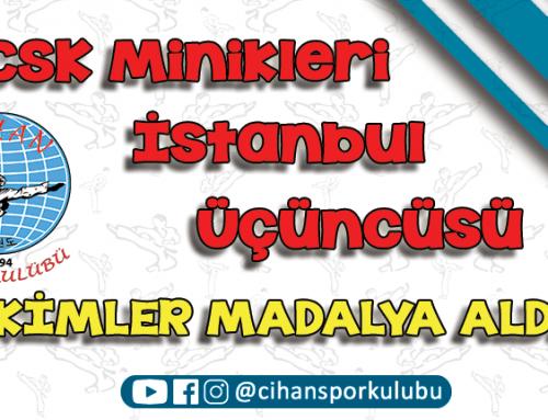 CSK Minikler İstanbul Üçüncüsü