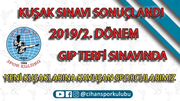 2019/2. Dönem Kuşak Sınavı, CSK Taekwondo, Zeytinburnu Tekvando