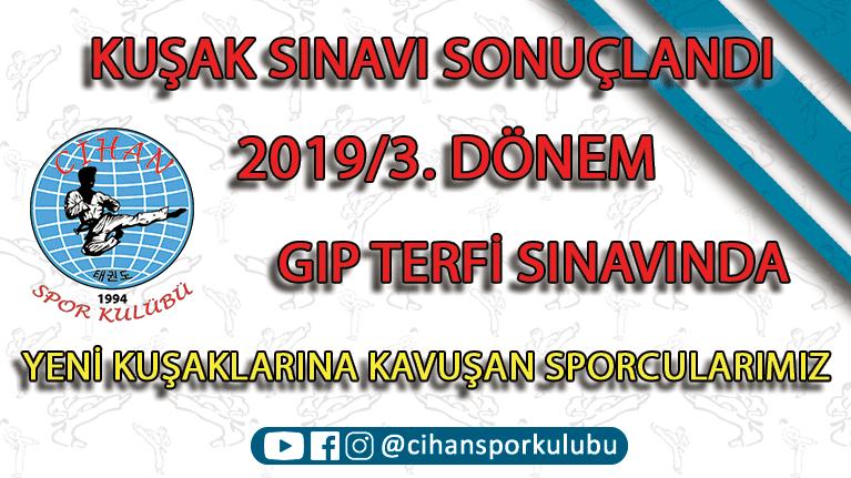 2019/3. Dönem Kuşak Sınavı, CSK Taekwondo, Zeytinburnu Tekvando